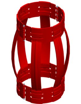 Hinged Non-Weld Spring Bow Centralizer
